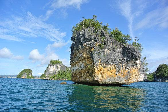 インドネシアの知られざる海域 ラジャアンパットには驚きが満載!