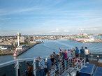 豪華なる新造船で 地中海を巡る旅へ