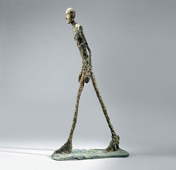 存在の不安」を端的かつ強烈に表した 画家・彫刻家ジャコメッティの大 ...