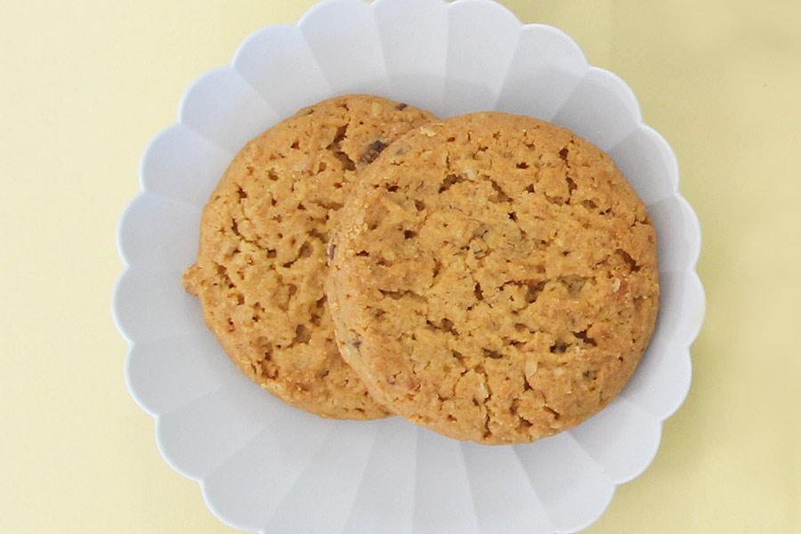 チョコチップ&オレンジクッキーとステムジンジャー&レモンクッキーが10枚ずつ