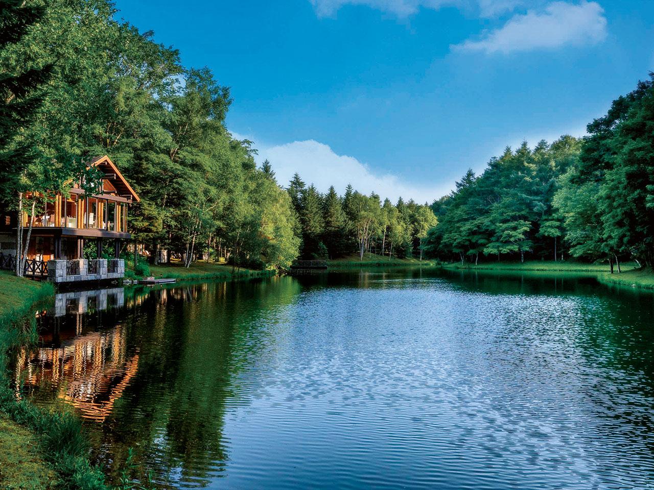 大自然のリズムに気持ちを委ねる 心が豊かになる宿泊施設3選