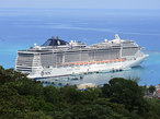 「女神」という名の船でめぐる カリブ海豪華クルーズ