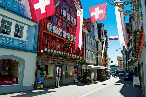 おとぎの国のようなスイスの村 アッペンツェルの可愛い魅力とは?